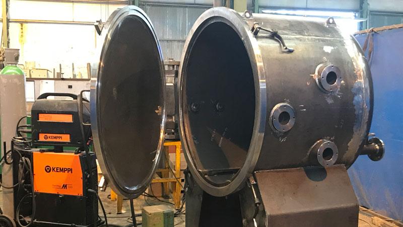 fabricación de productos de calderería