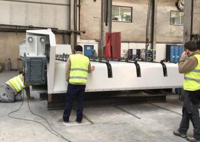 Fabricación de un arrastrador de troncos - Calderería y mecanizado