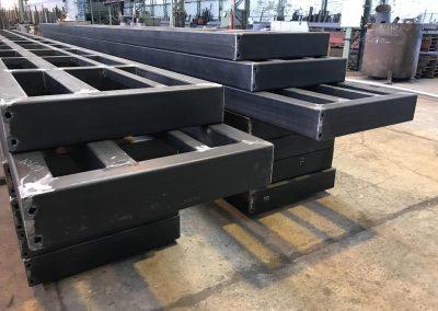 fabricación de bancadas en series cortas y largas