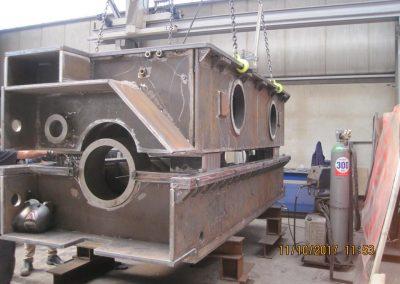 fabricación de carcasas pre-mecanizadas