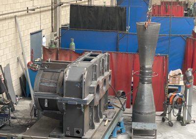 fabricación de carcasas y reductoras, venturis y piezas especiales