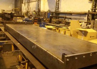fabricación de conductos especiales de doble capa refrigerada