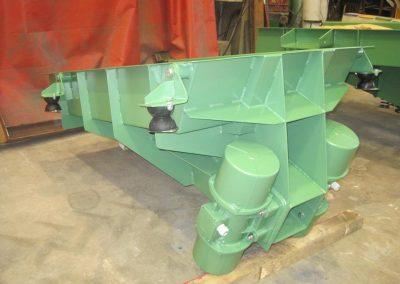 fabricación de maquinaria vibrante