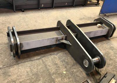 fabricación de un balancin industrial