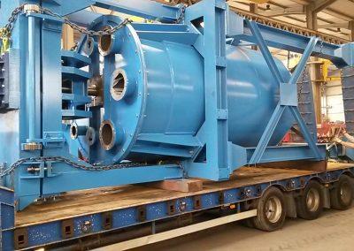 fabricación de un déposito agitador - Acabo y montaje