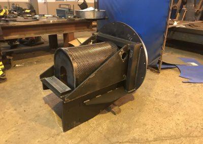 fabricación de una pieza industrial