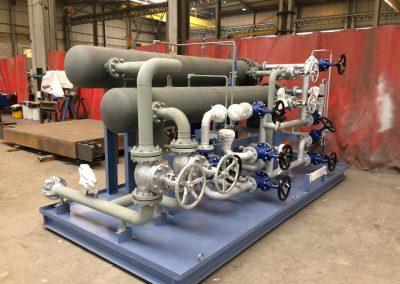 fabricación, premontaje y montaje de válvulas, carretes...