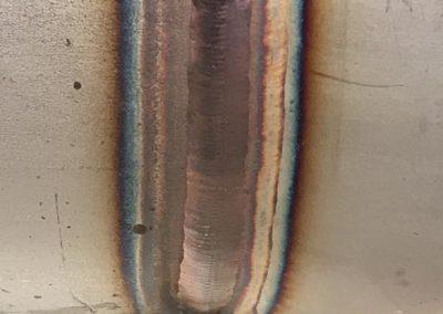 fabricación de piecería en acero inoxidable con soldadura TIG maual